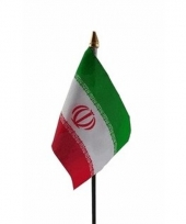 Iran luxe zwaaivlaggetje polyester