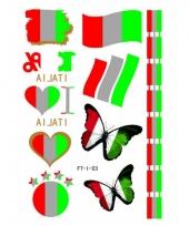 Italiaanse supporters tattoos