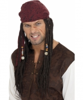 Jack sparrow piratenpruiken