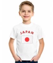 Japans vlaggen t-shirt voor kinderen