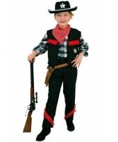 Jongens cowboy verkleedkleding