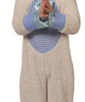 Jongens schapen kostuum