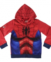 Jongens sweatshirt spiderman