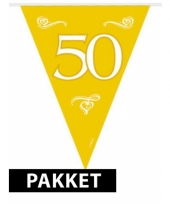 Jubileum 50 jaar feestartikelen pakket