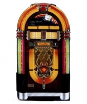Juke box decoratie bord