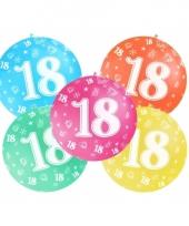 Jumbo ballon 18 jaar