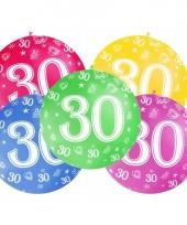Jumbo ballon 30 jaar