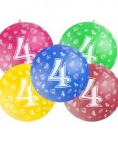 Jumbo ballon 4 jaar