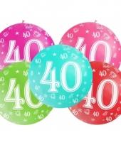 Jumbo ballon 40 jaar