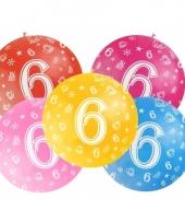 Jumbo ballon 6 jaar