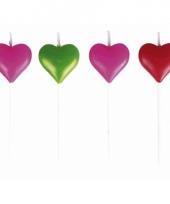 Kaarsjes in hartvorm