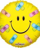 Kado ballon emoticon beterschap 35 cm