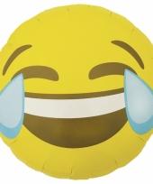 Kado ballon lachende emoticon 46 cm