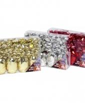 Kado verpakking set rood 16 delig