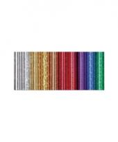 Kadopapier folie holografisch metallic paars