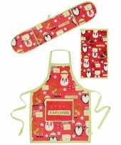 Kadoset keuken textiel christmas 3 delig