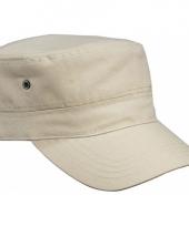 Kaky kleurige rebel militairy cap