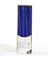 Kandelaar kaarsen blauw 25 cm