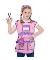 Kapper verkleedkleding voor meisjes