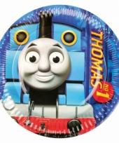 Kartonnen bordjes thomas de trein