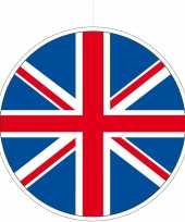Kartonnen decoratie england great britain 28 cm