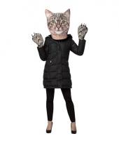 Kattenkop verkleedset voor volwassenen