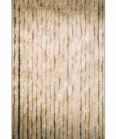 Kattenstaart gordijn beige 90x220 cm