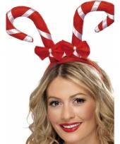 Kerst haarband met zuurstokken