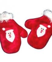 Kerst handschoenen voor kinderen