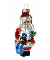 Kerst ornament kerstman 8 cm 10074734