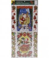 Kerst raamstickers type 1 10081420