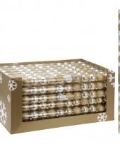 Kerstbal pakket goud