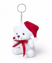 Kerstberen sleutelhanger 10 cm