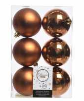 Kerstboom ballen koper 8 cm