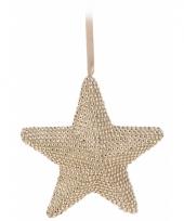 Kerstboom hanger ster 21 cm