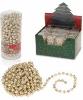 Kerstboom ketting met gouden kralen 10065409