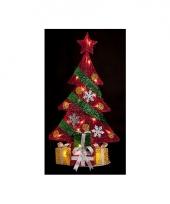 Kerstboom met led licht 74 cm voor binnen
