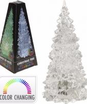 Kerstboompje met led licht 18 cm