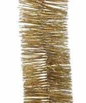 Kerstboomversiering slinger metallic goud 270 cm
