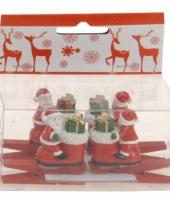 Kerstknijper met kerstman 4x 10074586