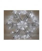Kerstlampjes sneeuwvlok 27 cm