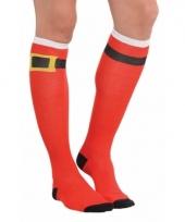 Kerstman accessoires sokken