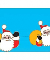 Kerstman kerstslinger 140 cm