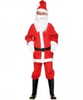 Kerstman verkleedkleding kinderen