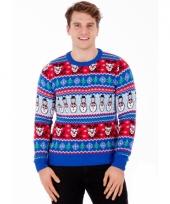 Kerstmis trui comic christmas voor mannen