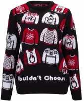 Kerstmis trui could not choose voor vrouwen