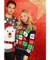 Kerstmis trui met adventskalender 10075520