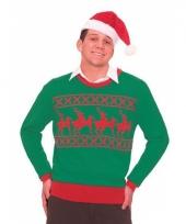 Kerstmis trui met rendieren