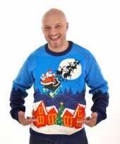 Kerstmis trui sleigh ride