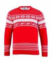 Kerstmis trui the red nordic voor vrouwen